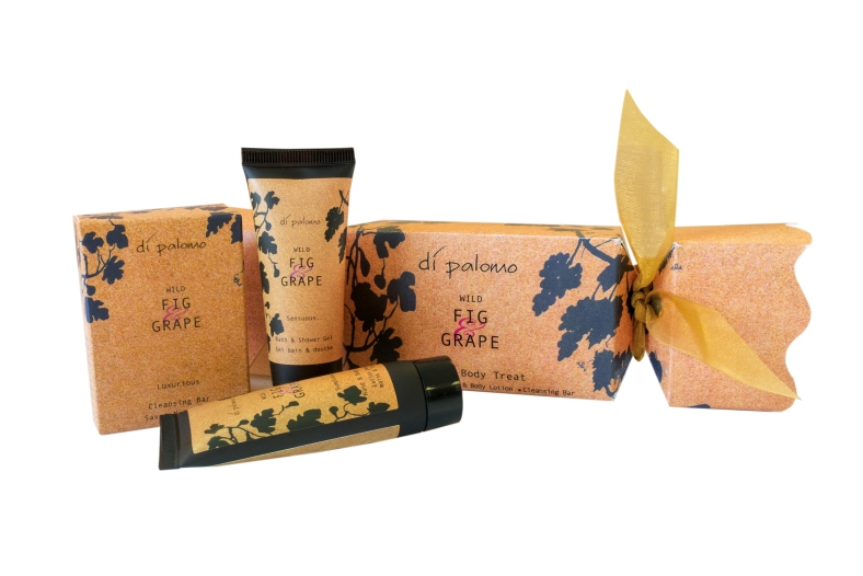 Fig and Grape Christmas Cracker Gift Set
