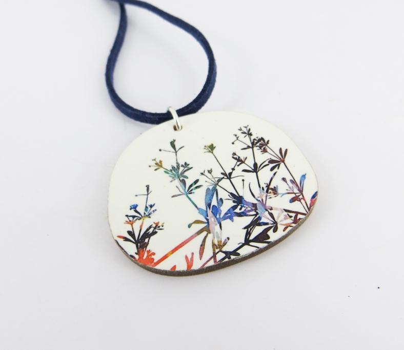 Botanical pendant