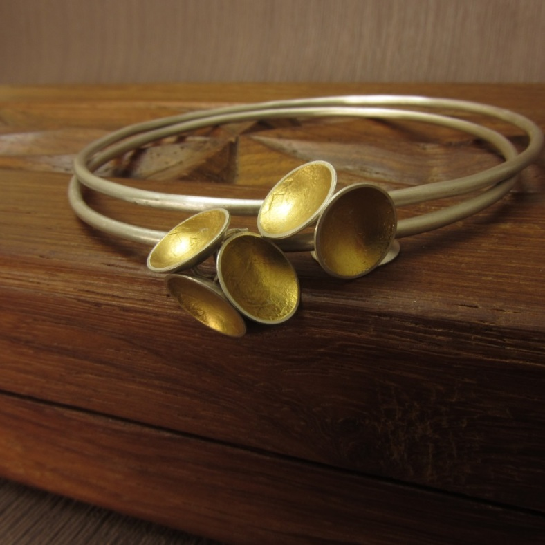 Cup of Gold Bangle