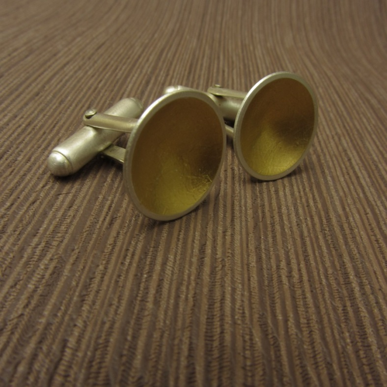 Cup of Gold Cufflinks