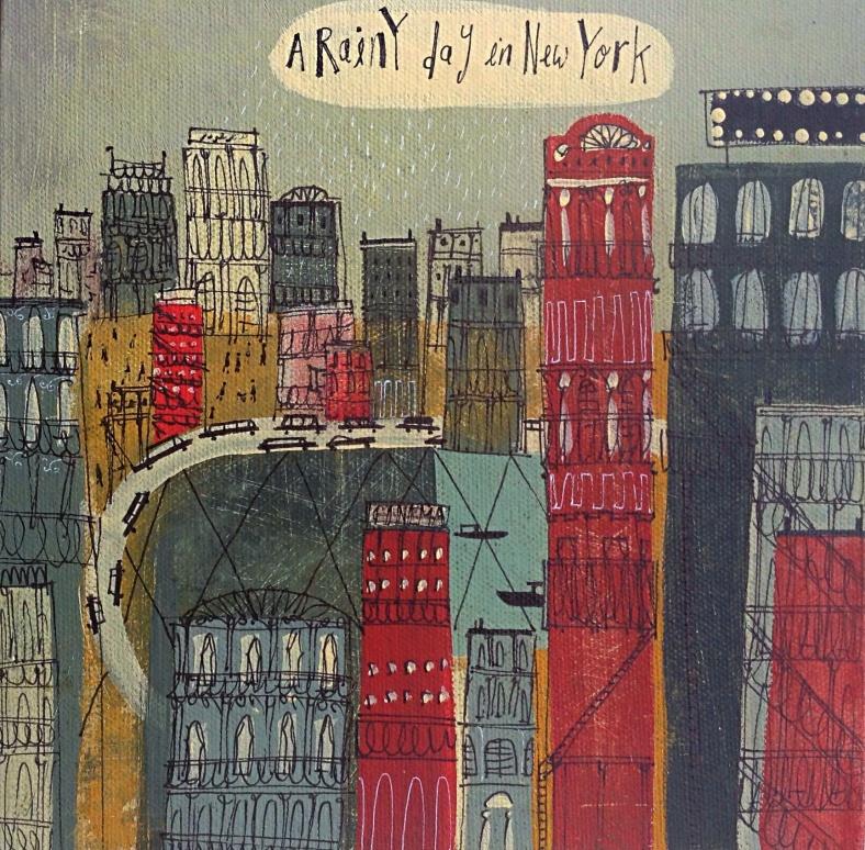 Rainy Day in New York - Angela Smyth