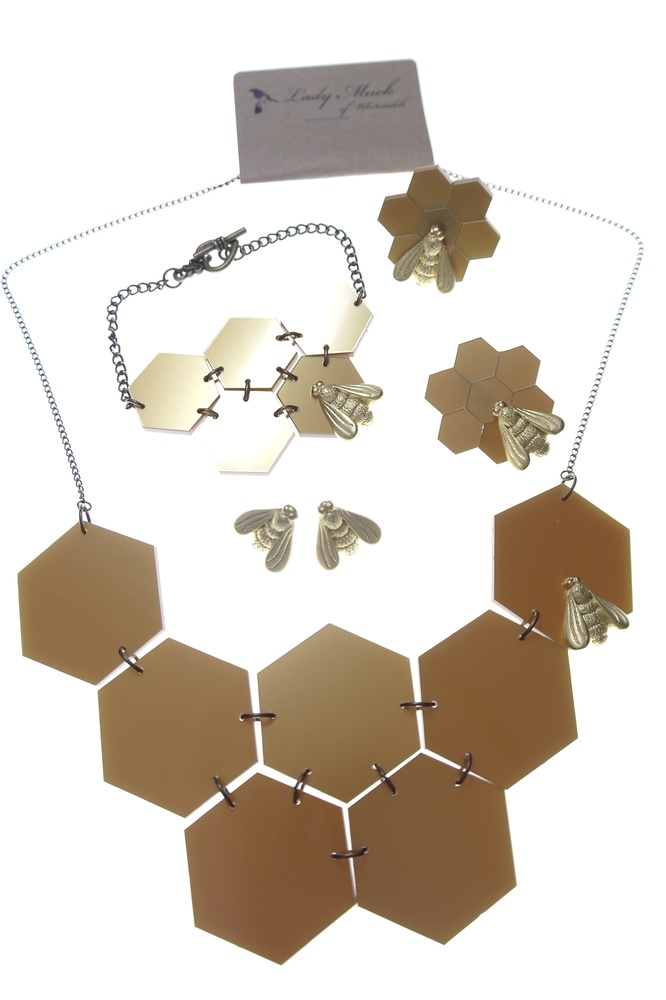 Honeycomb and Bee collection - Esa Evans