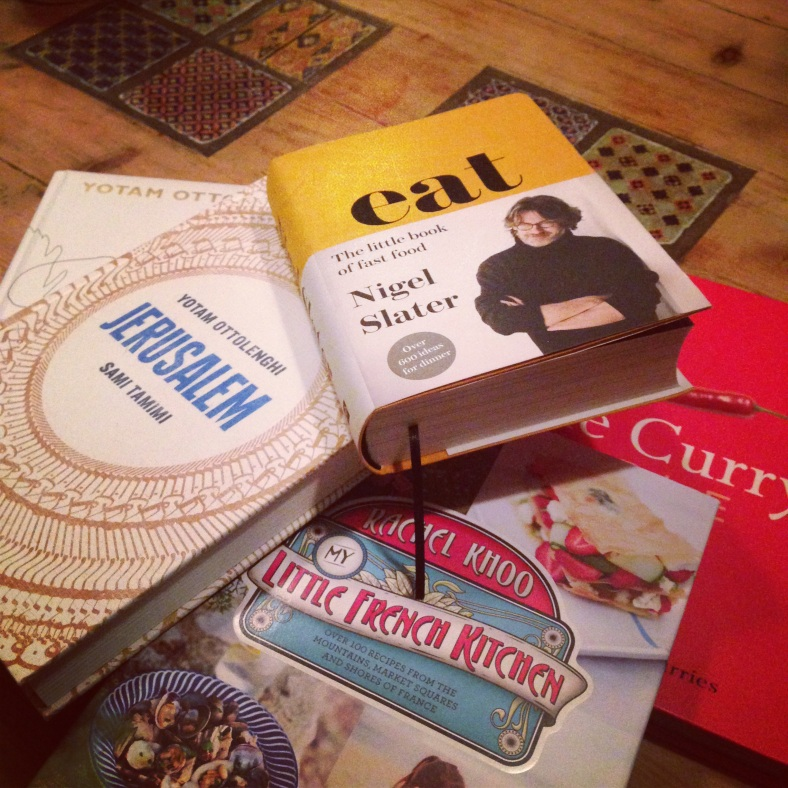 So many lovely cookery books bought for me this Christmas