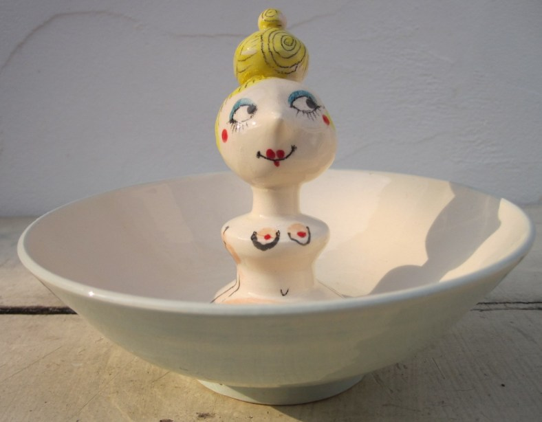 Blonde Lady Bowl