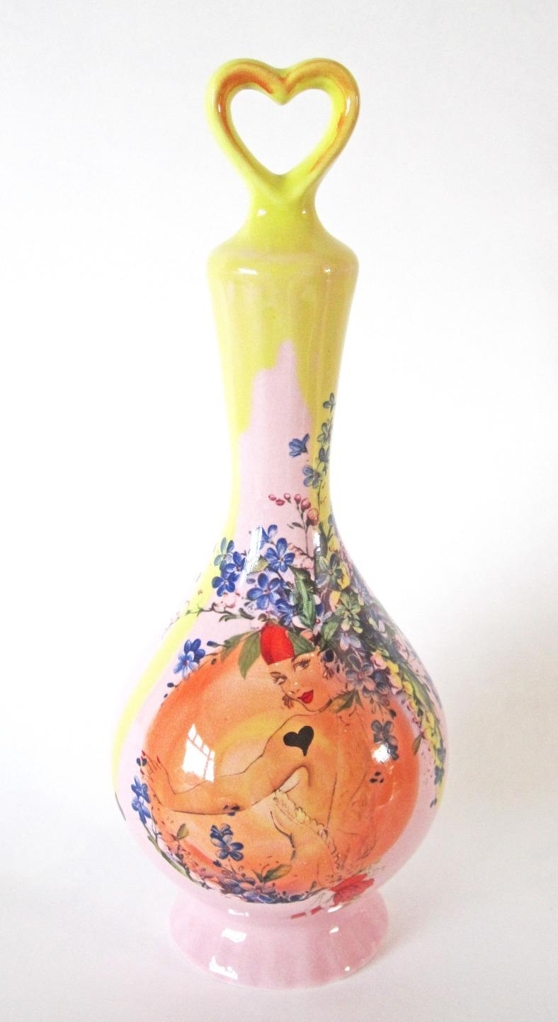 Ladylove fluted vase