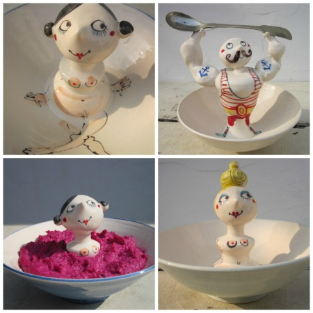 Cheeky and fun ceramics from Katherine Morton