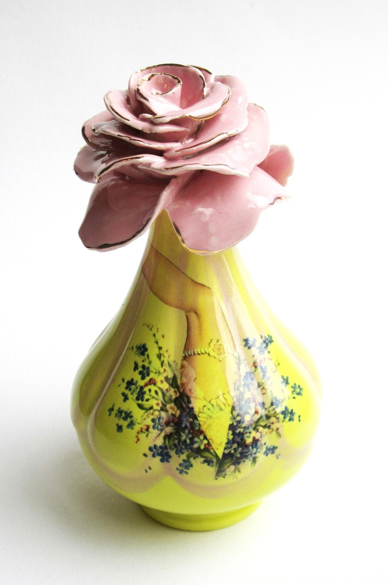 Rosebud Vase