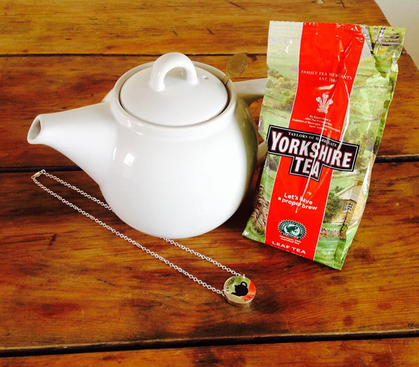 New collection for Heart Gallery incorporating the leaves from Yorkshire Tea!