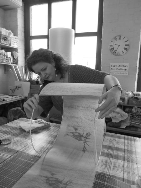 Clare Ashton - Textile Artist