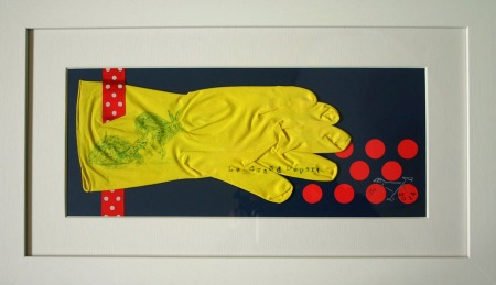 Printed Rubber Glove