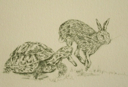 The Hare and The Tortoise (limited edition)