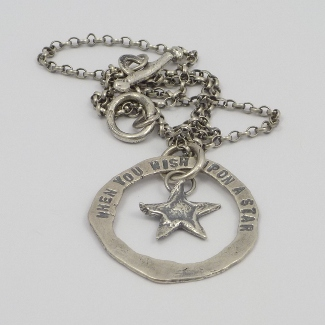 When you wish upon a Star - necklace