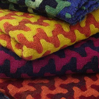 Hand woven snoods - Sally Weatherill