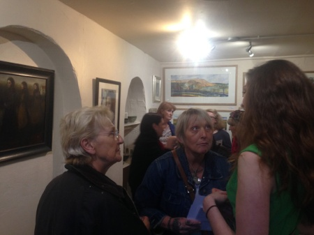 Launch evening of We all Cast Shadows with Gillian Lee Smith