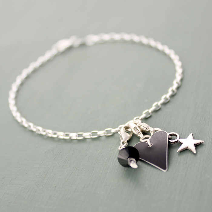 Heart bracelet from our current Christmas collection