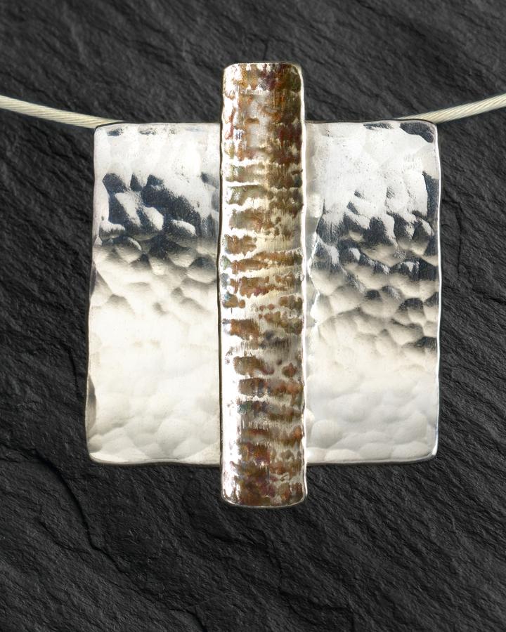 Textured pendant - Caron Burroughs