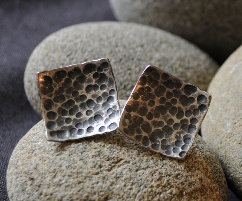Speckled studs - Caron Burroughs