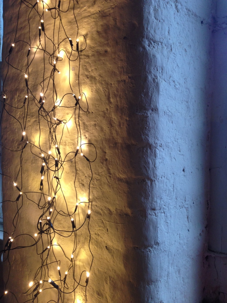 Who doesn't want fairy lights twinkling when you are working?
