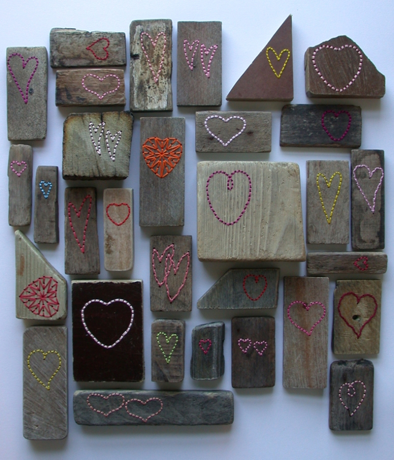 Driftwood Hearts for Valentines Day available at Heart Gallery