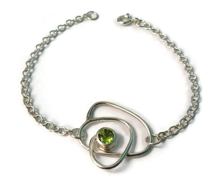 Peridot bracelet - Abby Filer
