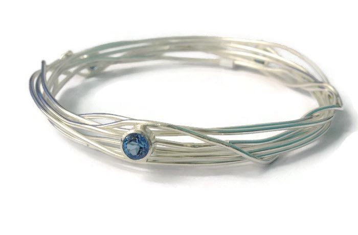 Topaz Bangle - Abby Filer