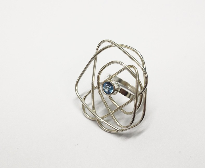 Topaz ring - Abby Filer