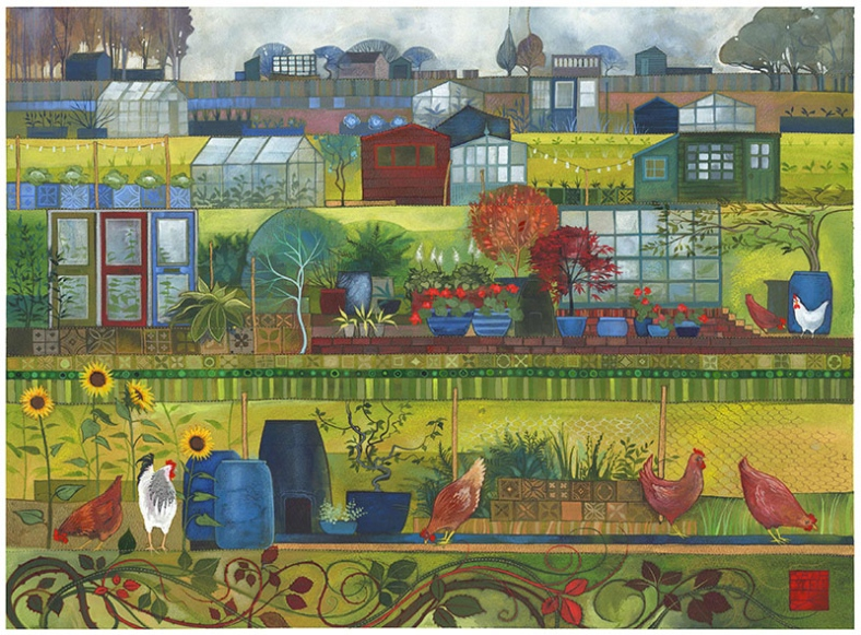 Allotments - Kate Lycett