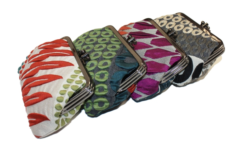 Silk Clasp purses - new collection
