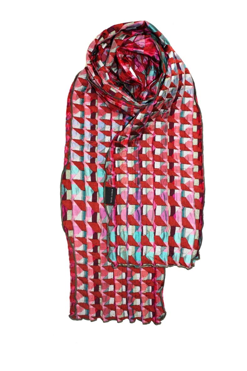 Eton - large standard silk scarf