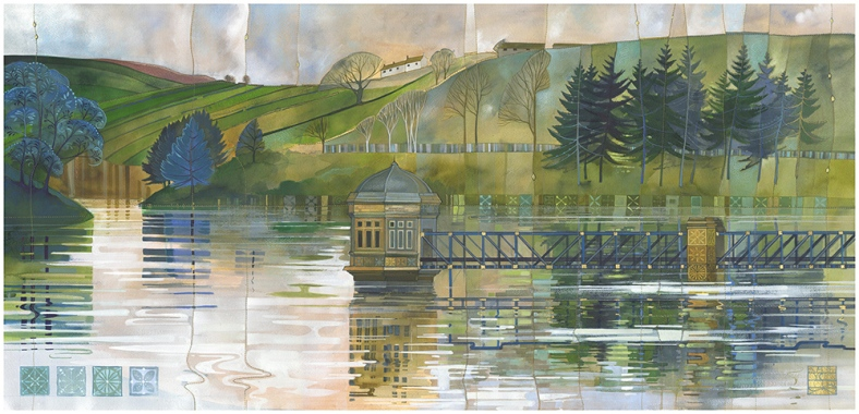 Lower Laithe Reservoir - Kate Lycett