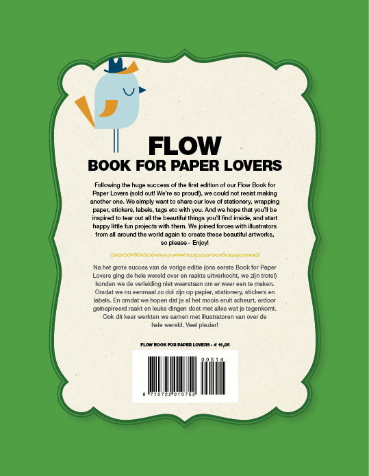 A snippet from our current edition of flow book for paper lovers