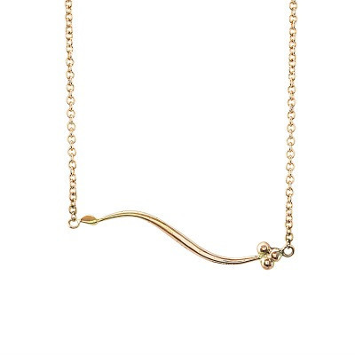 9ct rose gold India necklace - Andrea Eserin