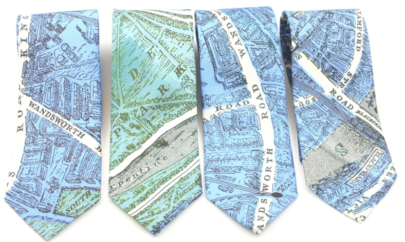 City on Cloth ties