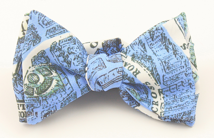 City on Cloth bow tie