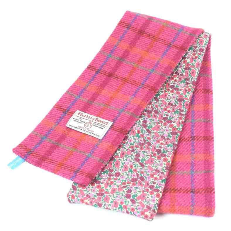 Harris Tweed skinny scarf