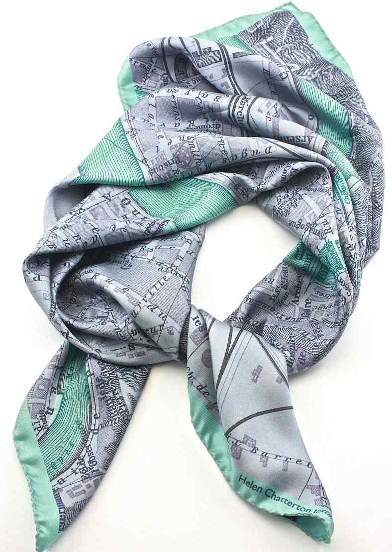 Lyon silk scarf
