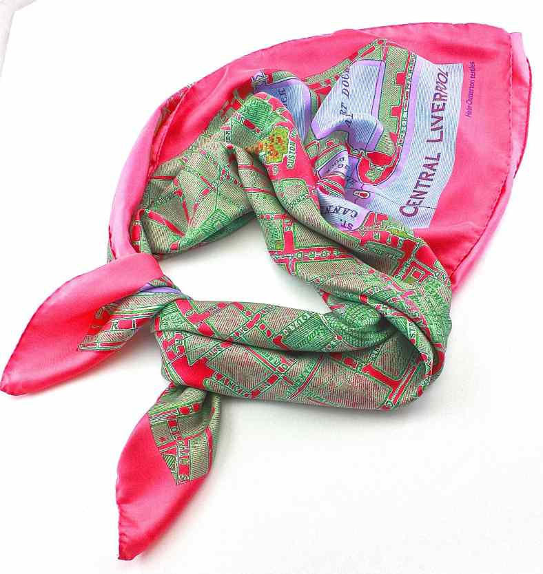 Liverpool silk scarf