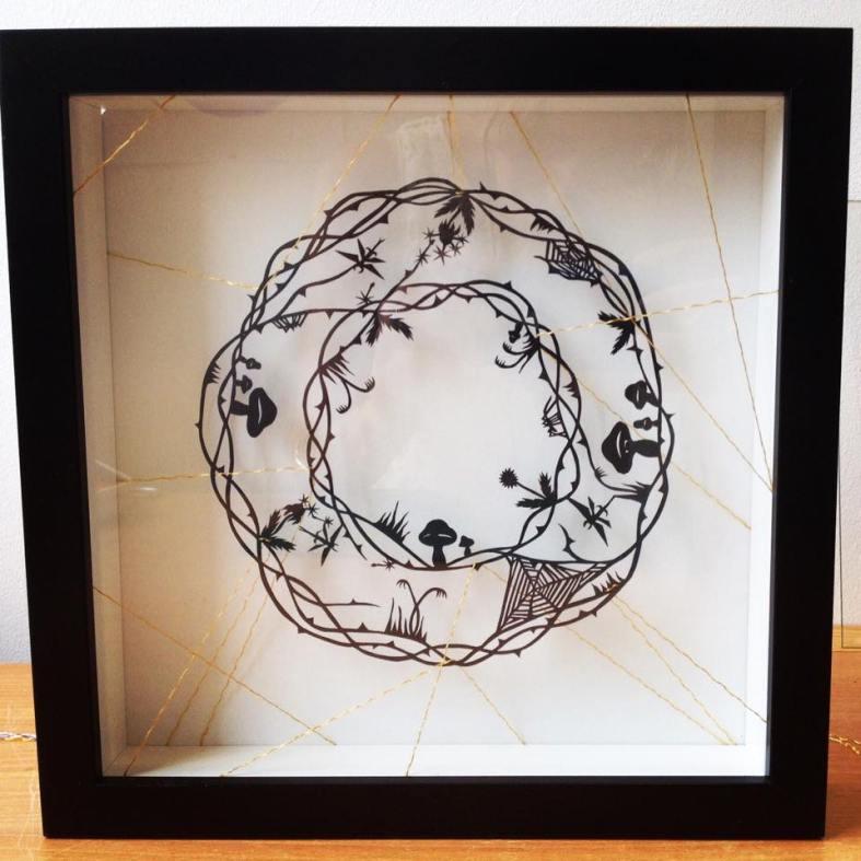Finished framed piece