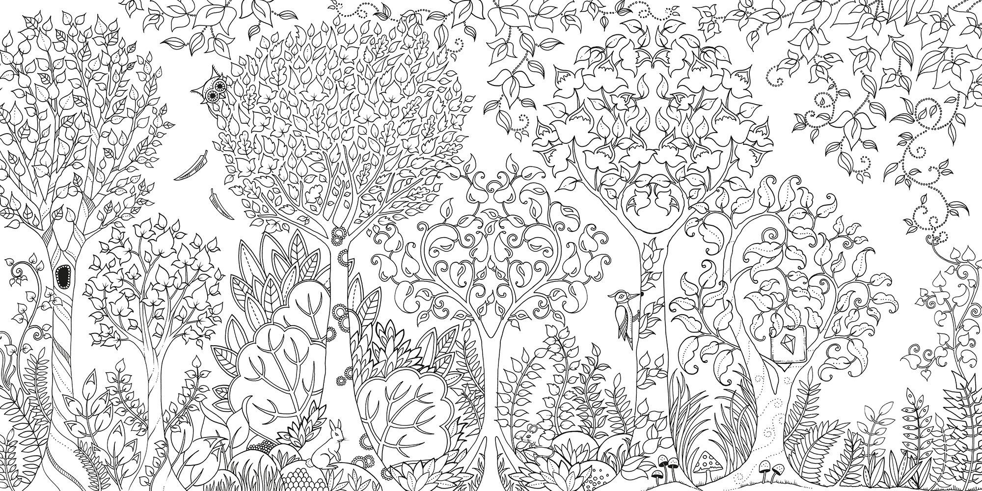 Secret Garden Coloring Book Pdf