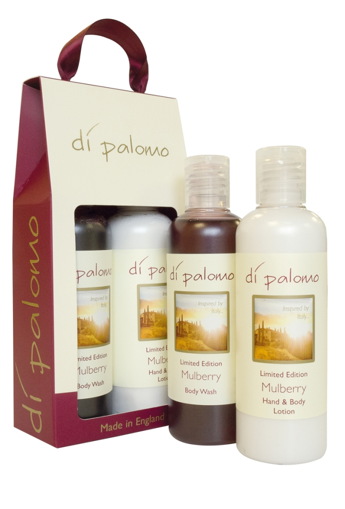 Mulberry Bath and Body Gift Set