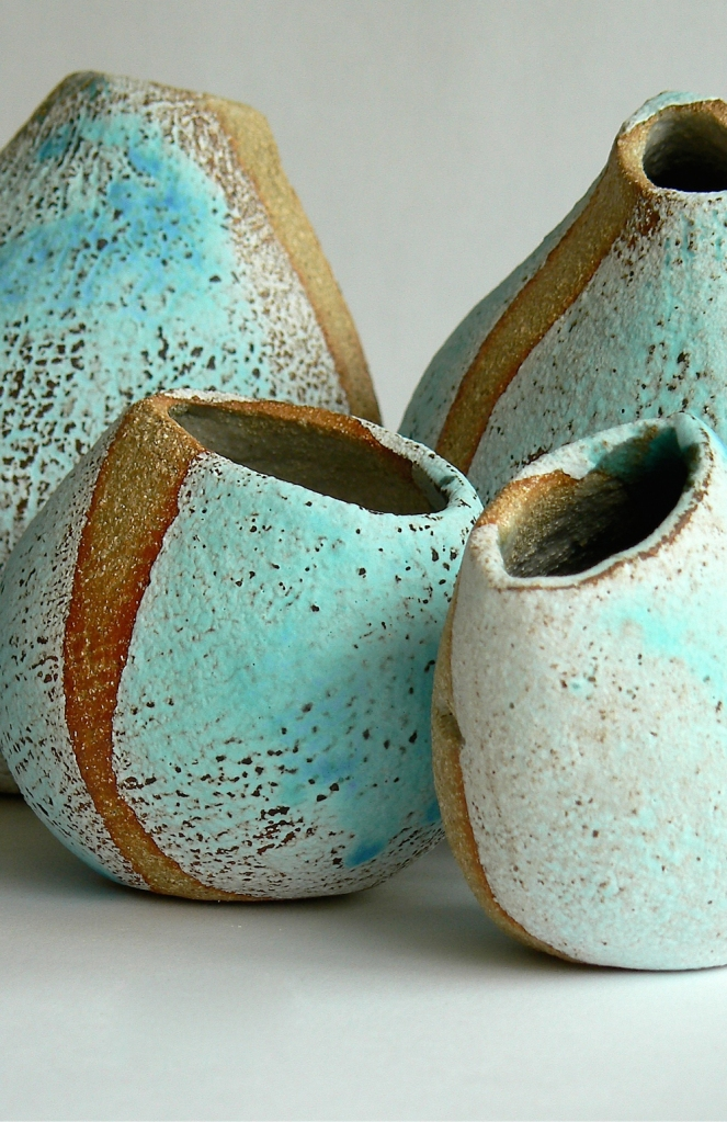 Pebble Vases - Kirsti Brown