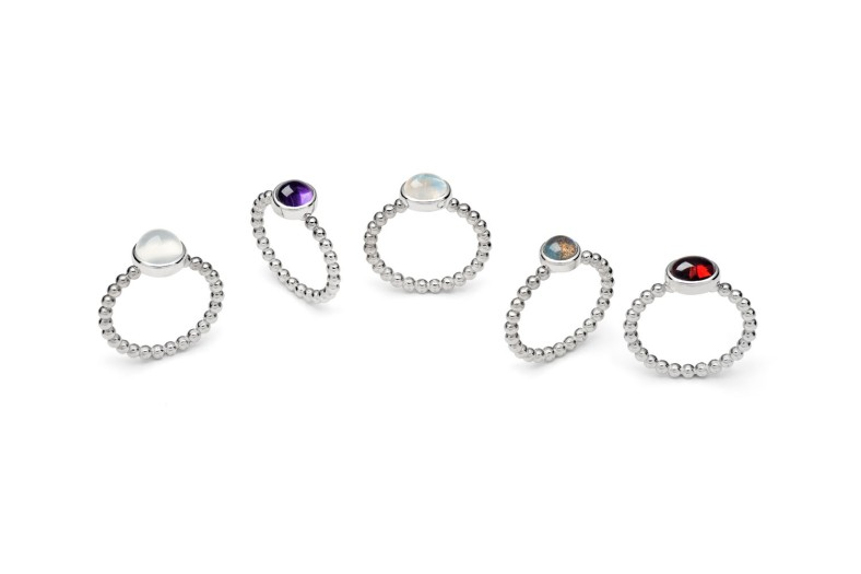 Selection of rings from Rebecca's Granule Collection