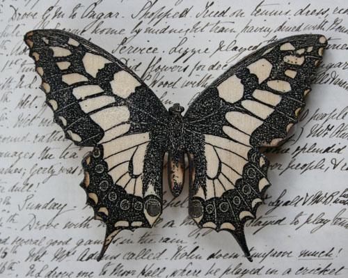 Large Butterfly brooch
