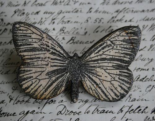 Medium Butterfly brooch