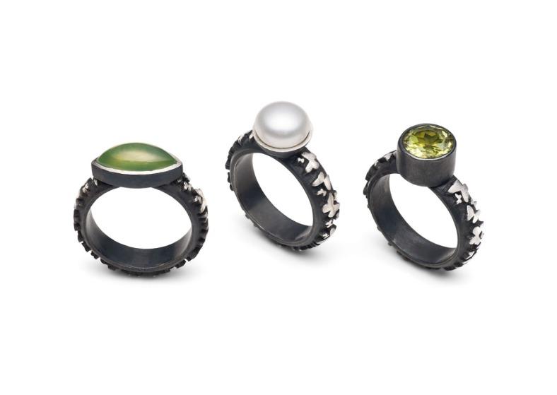 Stone set rings