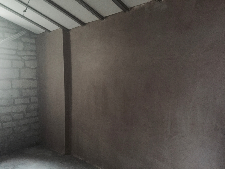 waterproof plaster layer