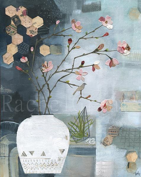 1.Rachel Grant Blossom 40x50cm