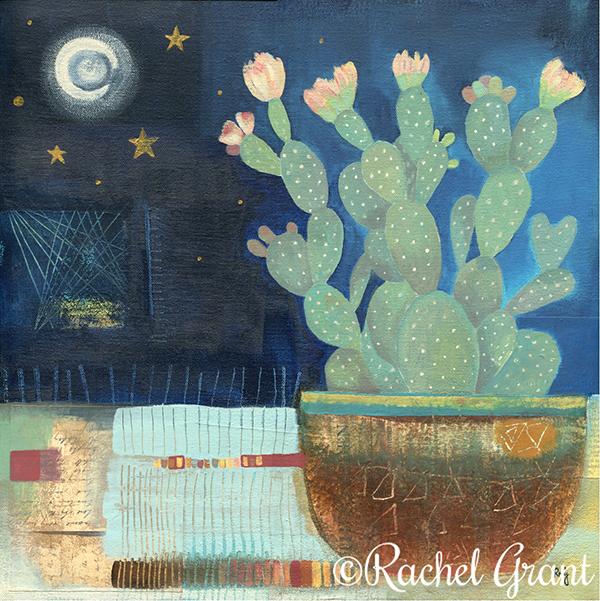 8. Rachel Grant Silverlinings 40x40cm