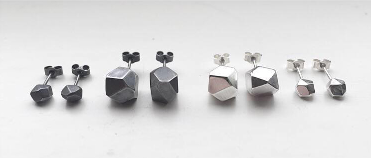 ELeach Hex Studs