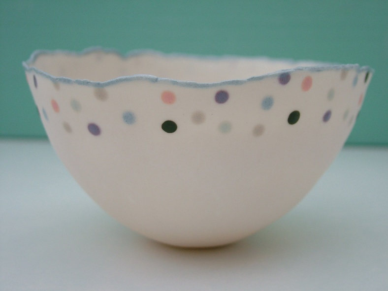 Porcelain Dott Bowl